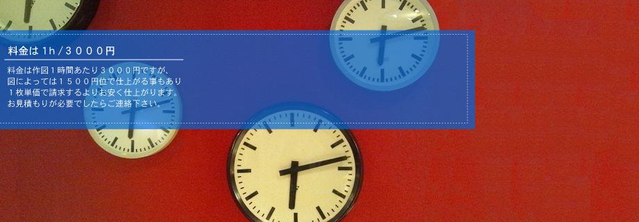 ヘッダー画像時計